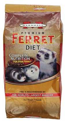 Marshall Premium Ferret Food is horrible for your ferret!